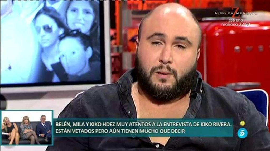 Jorge Javier Vázquez pilla a Kiko Rivera en una mentira sobre su hermana