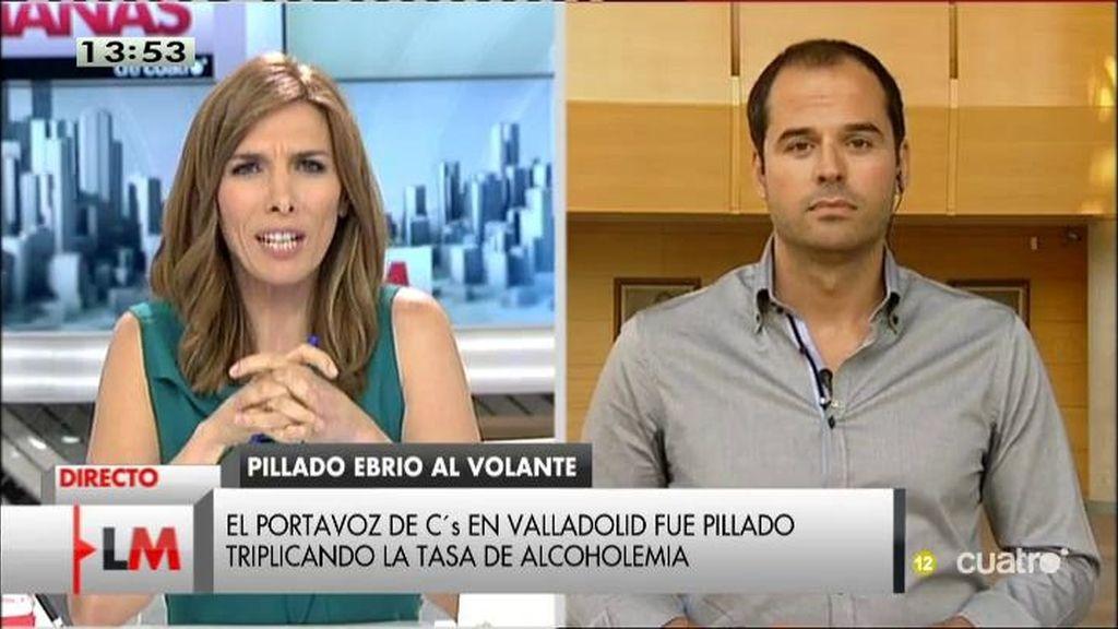 El portavoz de Ciudadanos en Valladolid, pillado triplicando la tasa de alcoholemia