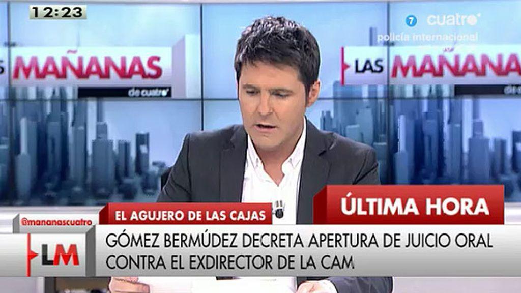 El juez Gómez Bermúdez da un plazo de 24 horas a directivos de la CAM