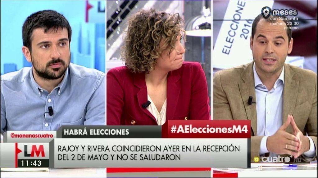 """I. Aguado (C's): """"¿Tan importante es un nombre como para llevar a 45 millones de españoles a votar otra vez?"""