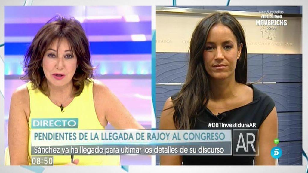 """Begoña Villacís: """"Ayer eché en falta que Rajoy apelase de verdad al PSOE"""""""