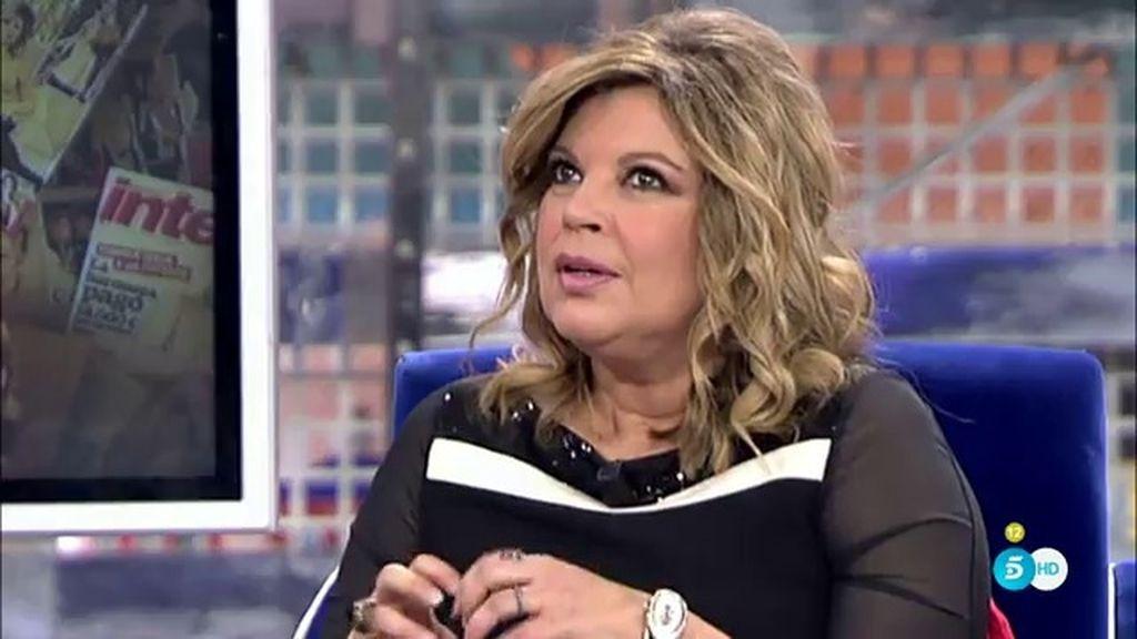 """Terelu Campos: """"Ahora mismo no sé muy bien cuál es el rumbo de mi vida"""""""