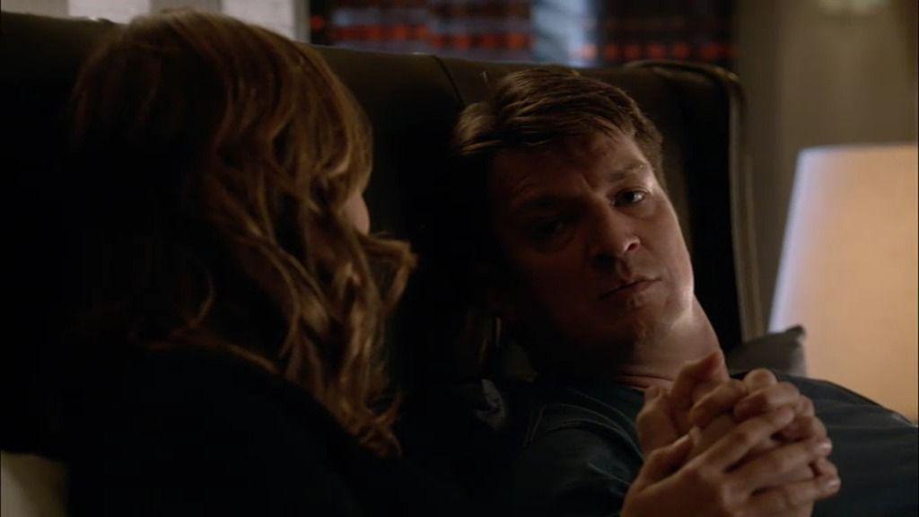 """Castle, a Beckett: """"No puedes dejar atrás lo que siempre está a tu lado"""""""
