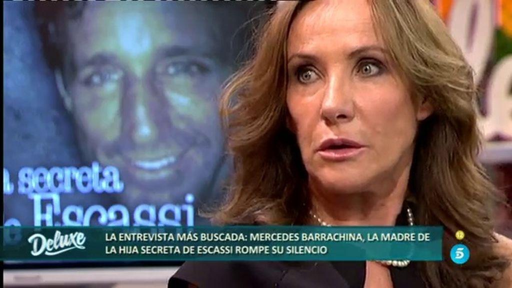 """Mercedes B.: """"Álvaro adivinó que Anna era su hija cuando ella tenía cuatro años"""""""