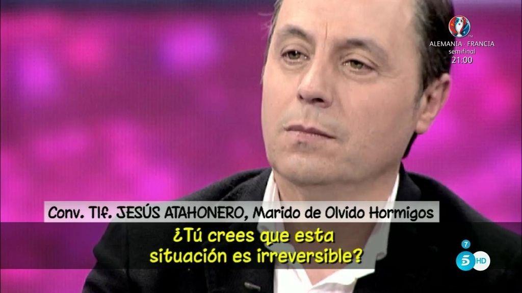 """Jesús Atahonero, del colaborador con el que podría haber estado Olvido Hormigos: """"Dejé de saber con quién iba"""""""