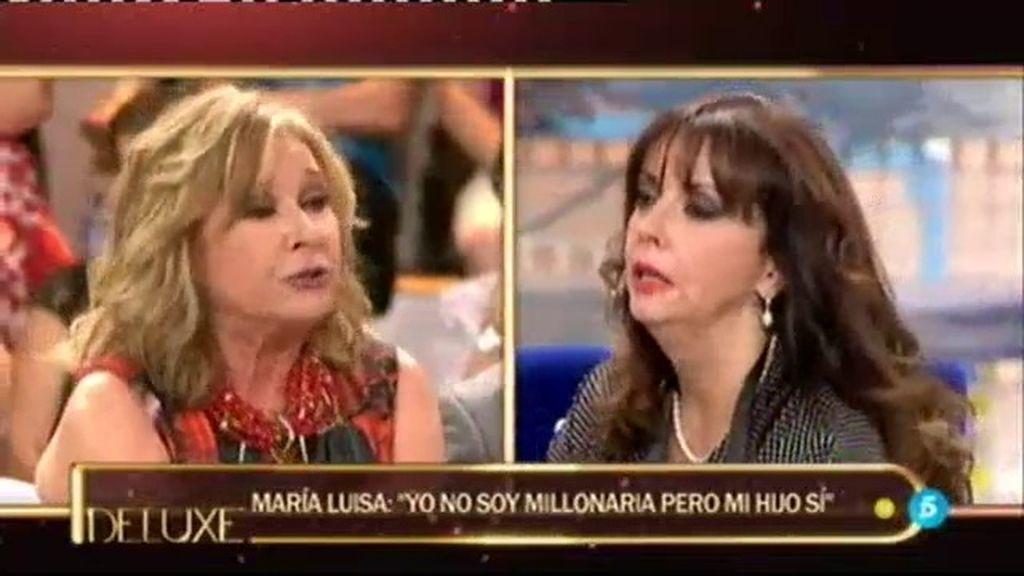 """Mª Luisa: """"Rafa no tiene capital como para no trabajar el resto de su vida"""""""