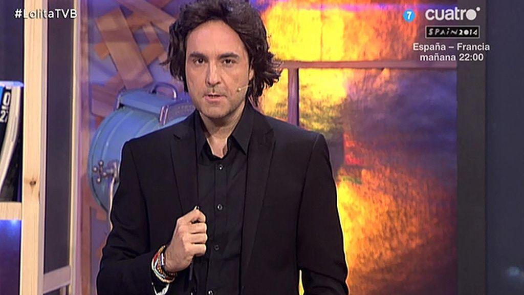 Iker Jiménez invita a todas las 'cármenes' a que vean el estreno de 'Cuarto  Milenio'