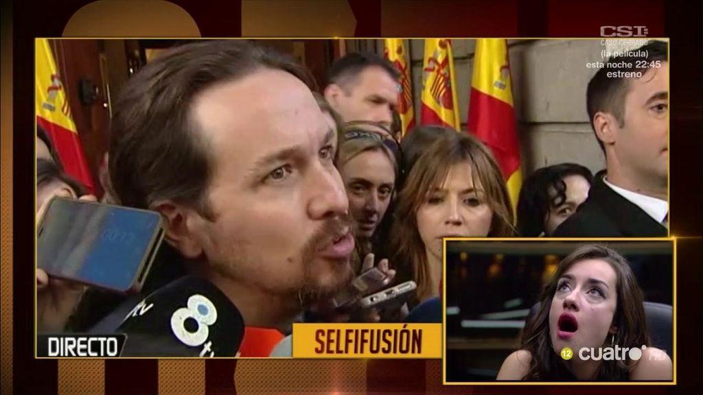 Adara, de 'GH', se raya con la reclamación de Pablo Iglesias en el Congreso