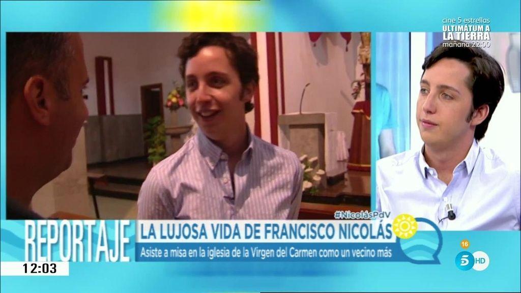 """Francisco Nicolás: """"Me gusta el reguetón y me encanta el perreo"""""""