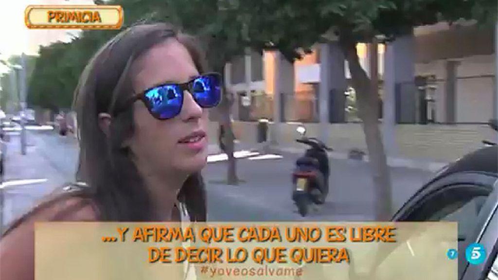 """Anabel Pantoja, de la entrevista de Chabelita: """"Cada uno puede hablar lo que quiera"""""""