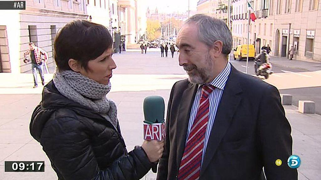 """R. Larreina, sobre la 'ley mordaza': """"Hay una ideología de la derecha que cree que los problemas se solucionan con represión"""""""
