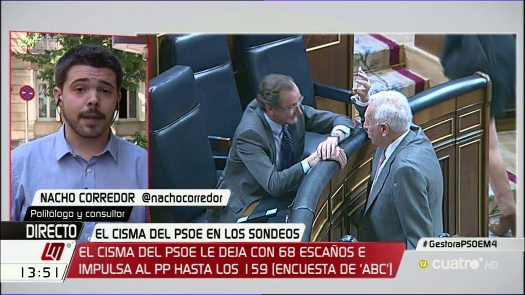 """Nacho Corredor: """"Creo que Rajoy va a forzar unas terceras elecciones"""""""