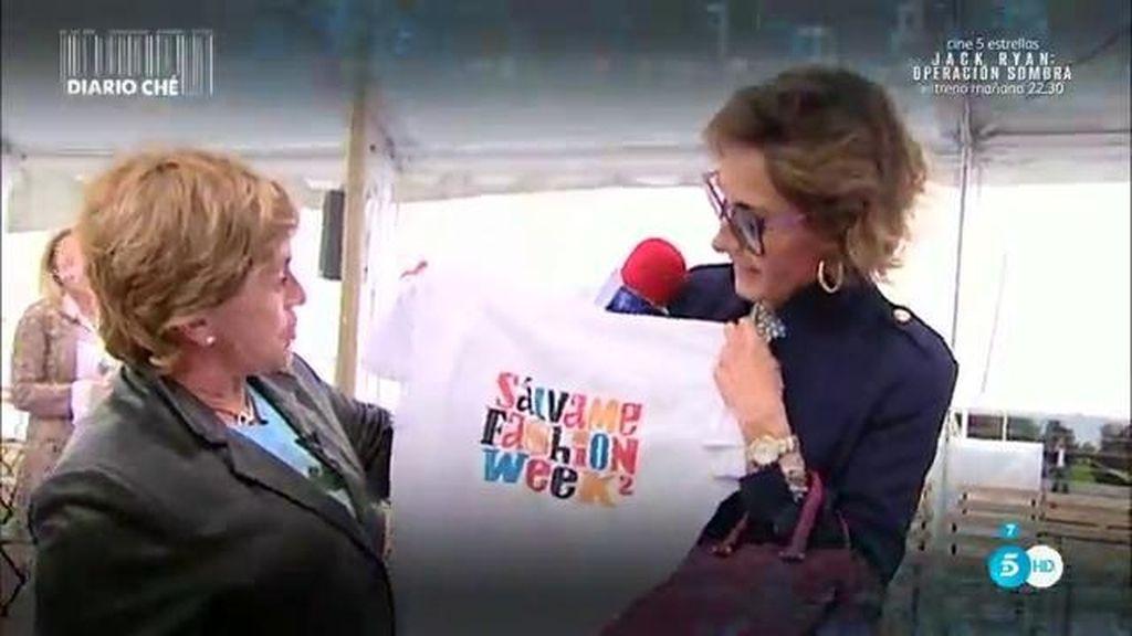 """Naty Abascal: """"La moda española va muy bien pero necesita más ayuda"""""""