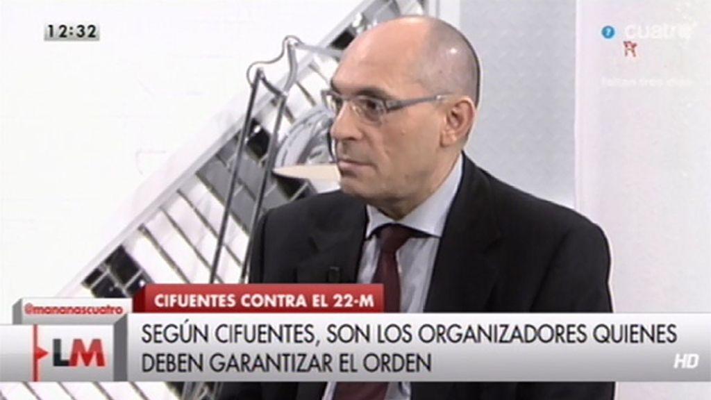 """Elpidio Silva: """"La delegada del Gobierno tiene que repasarse la normativa"""""""
