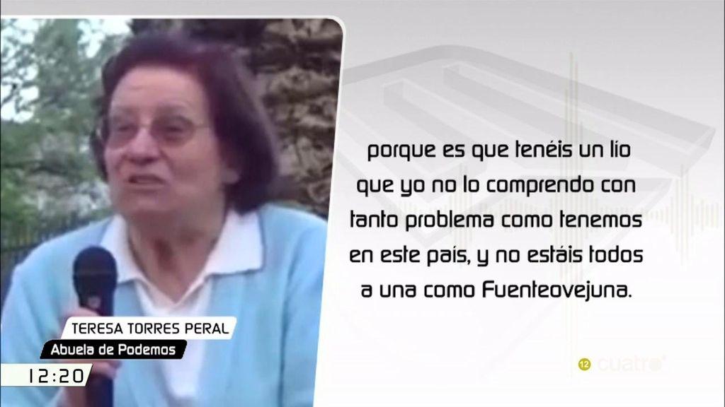 El mensaje de la abuela de Podemos que ha hecho recapacitar a Pablo Iglesias