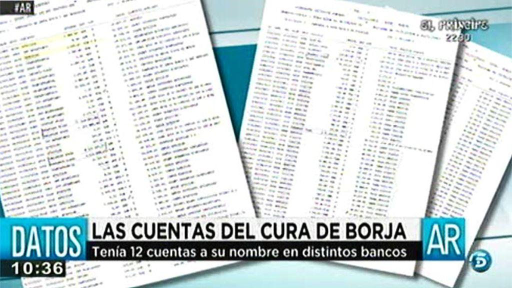 'AR' tiene acceso a las cuentas del cura de Borja