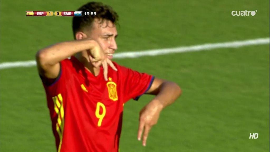 ¡Gol de Munir! Centro de Deulofeu al delantero para hacer el segundo (2-0)