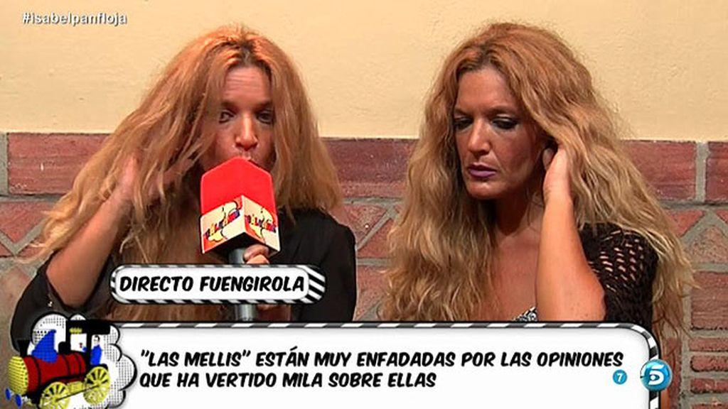 'Las Mellis' reconocen que han intentado ayudar a Isabel Pantoja con su multa