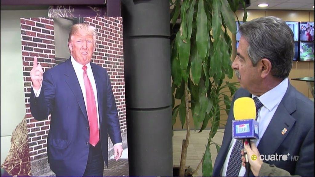 Revilla VS Trump: Así ha sido su cara a cara