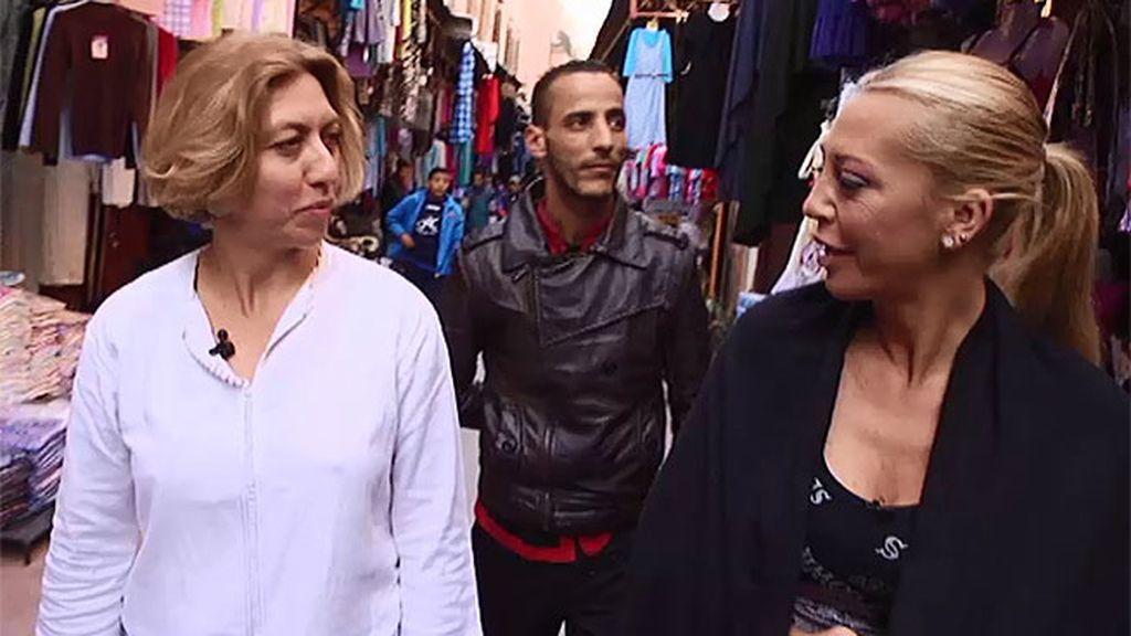 Belén conoce uno de los zocos más coloridos y espectaculares de Marruecos