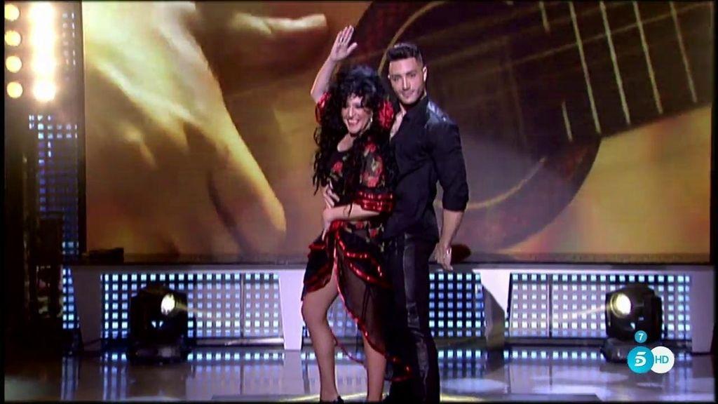 Lydia Lozano baila 'Ni más ni menos'