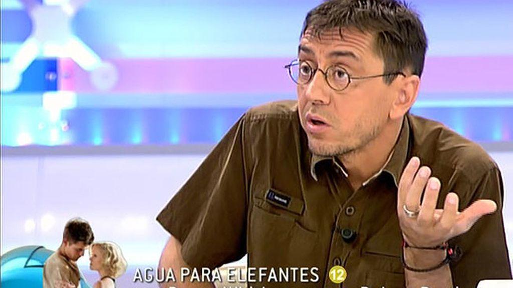 """Monedero: """"Hemos pagado un precio muy alto por las políticas de ajuste pero Luis de Guindos y Cañete se han colocado muy bien"""""""