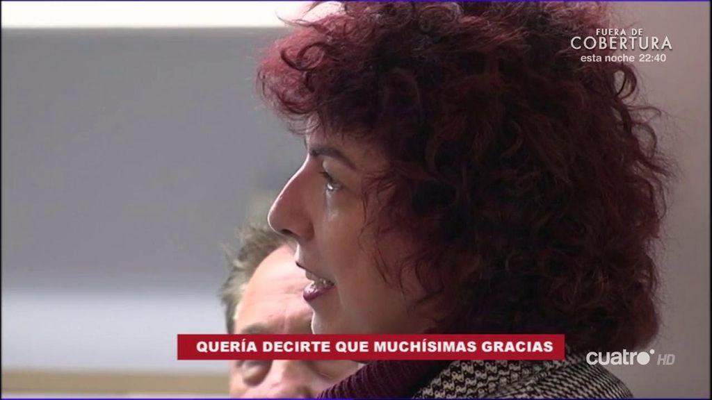 Una periodista agradeció a Enrique Martín su ayuda para curarse de una enfermedad