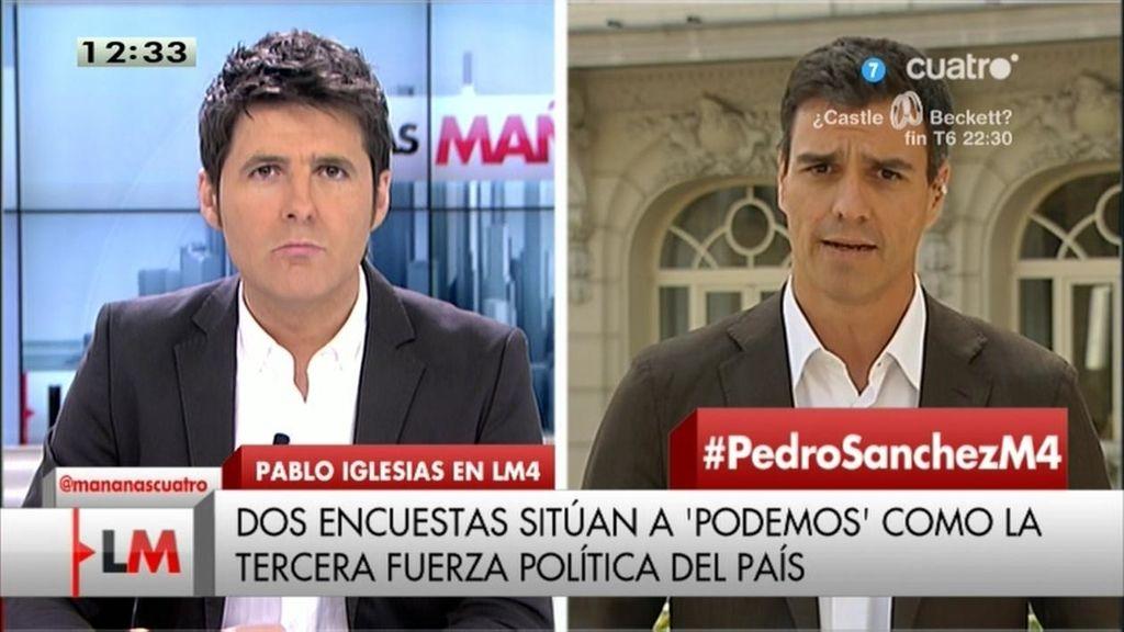 """Pedro Sánchez confirma su candidatura: """"Tengo muchas ganas de competir en las primarias del PSOE"""""""