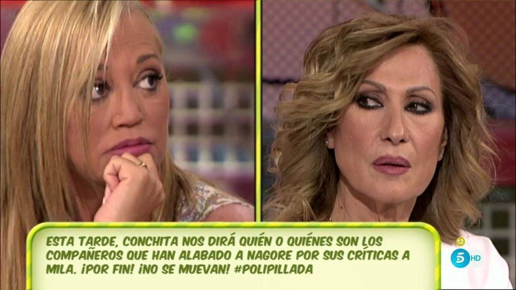 """Rosa Benito, a Belén Esteban: """"Ya me habéis condenado"""""""