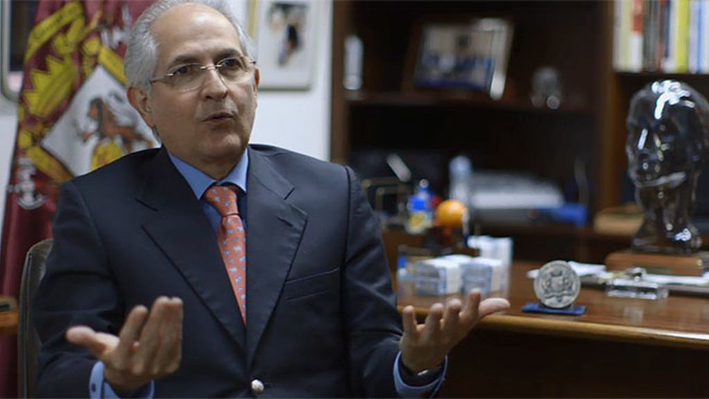 """Antonio Ledezma:""""¿Por qué las instituciones están controladas por el gobierno?"""
