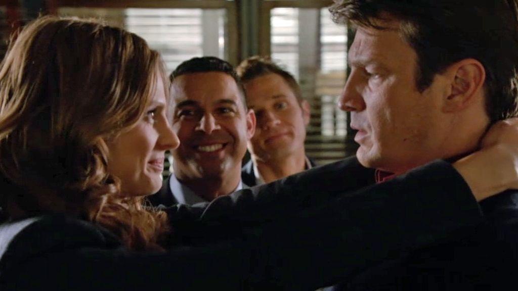 """Castle, a Beckett: """"¿Vamos a casarnos en el espacio?"""""""
