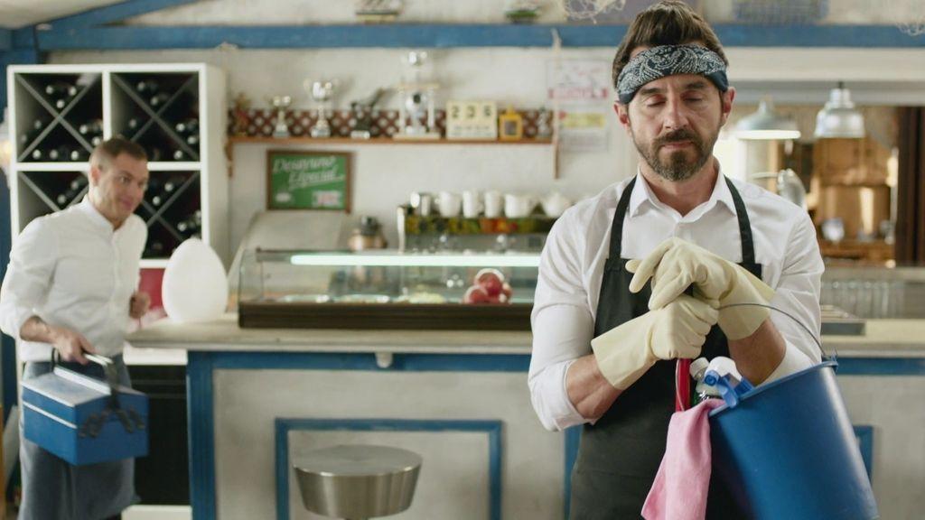 Sergi, de chef Michelín a pinche limpia baños