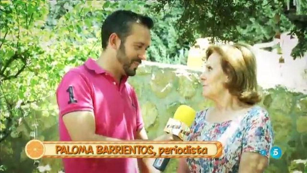 """P. Barrientos, sobre Eugenia Martínez de Irujo y José Coronado: """"Llevan cerca de un mes"""""""