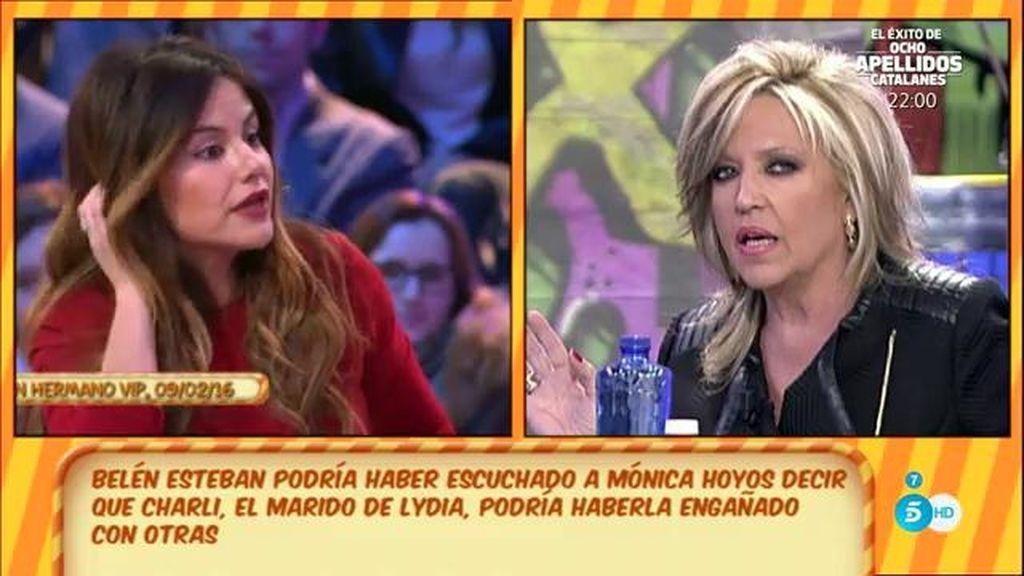 ¿Qué pasó entre Mónica Hoyos y Lydia L.?