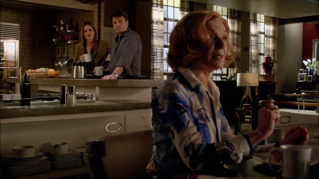 """Castle, Beckett y el extraño ritual de Martha: """"Cuándo juraste eso de para bien o mal no sabías dónde te metías"""""""