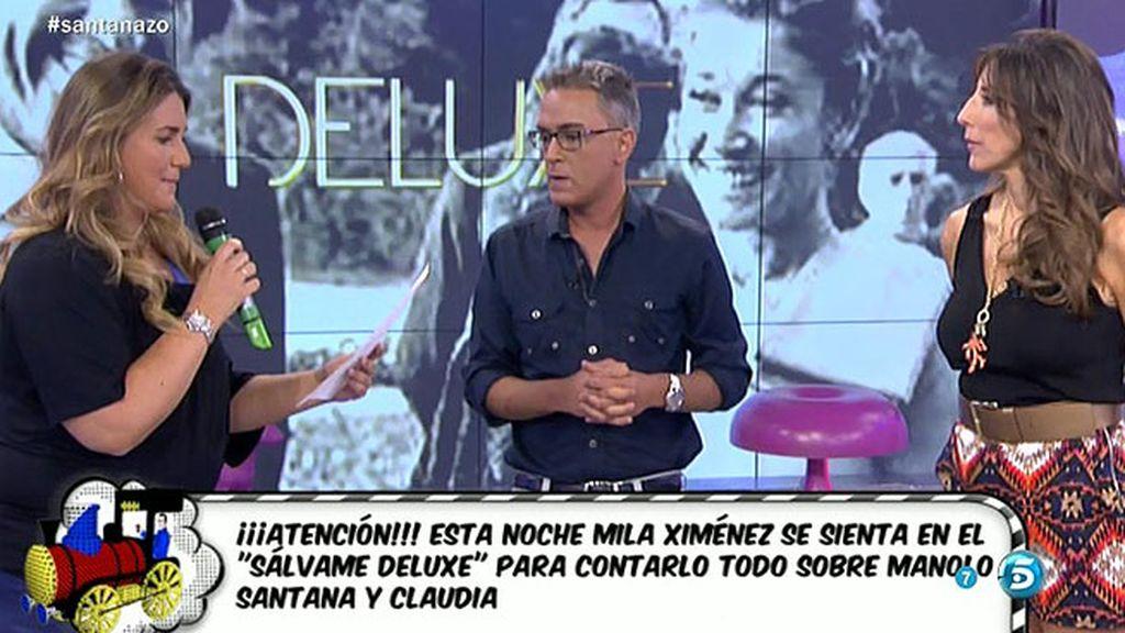 Manolo Santana y Claudia mandan un comunicado a 'Sálvame'