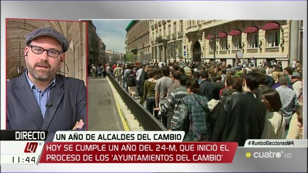 """M. Noriega: """"El Ayto. de Santiago ha sufrido en los últimos cinco años un ERE encubierto"""""""