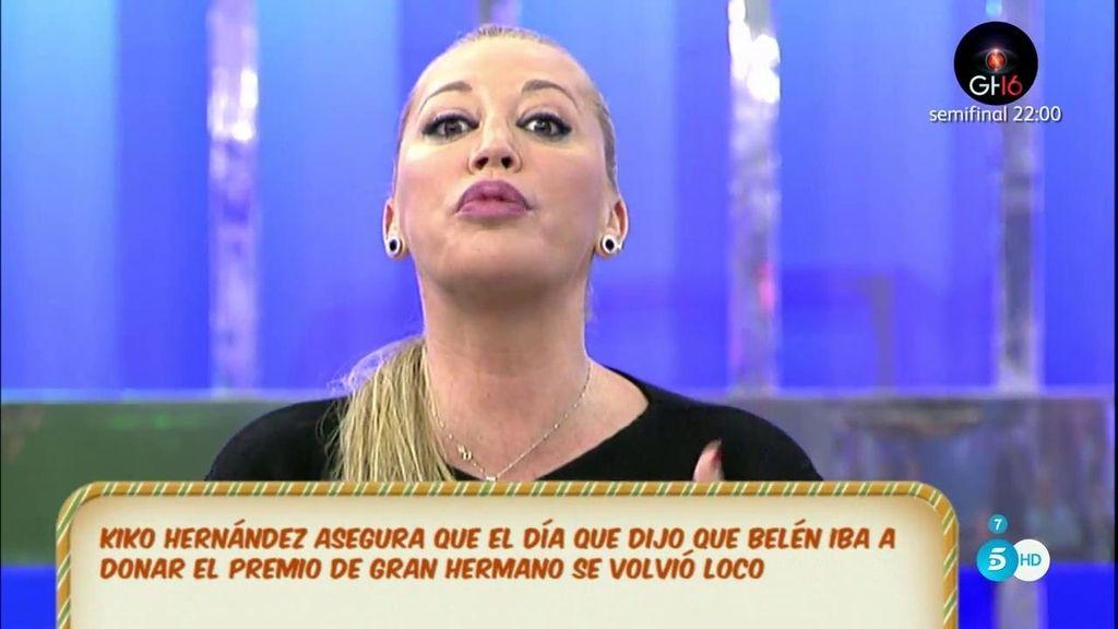 """Belén, a Aguastantas: """"El maletín de 'GH VIP' no te lo quitó Toño Sanchís, te lo quité yo"""""""