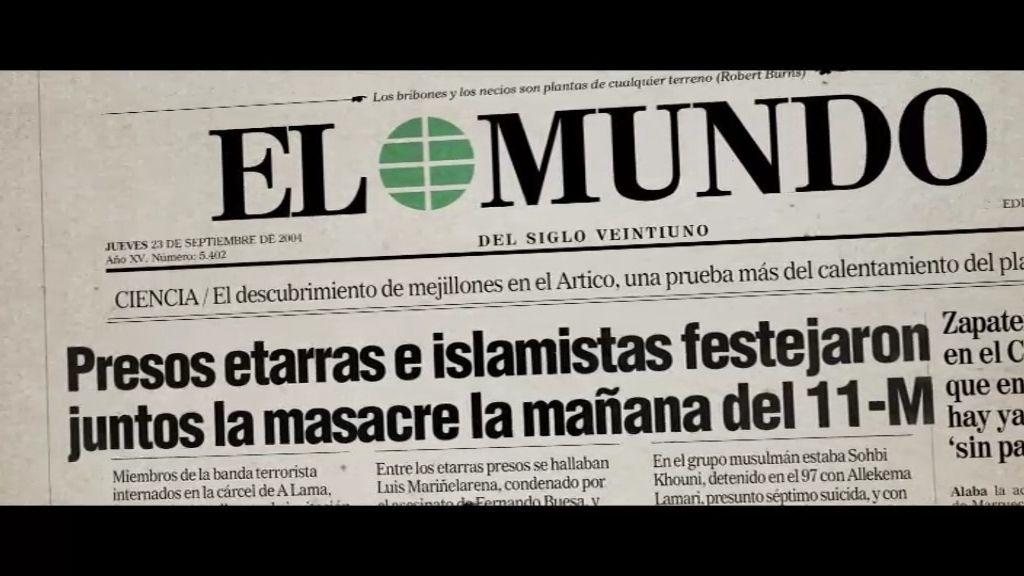 """Pedro J. Ramírez: """"Nadie ha encontrado pruebas que vinculen el 11-M con Al Qaeda"""""""