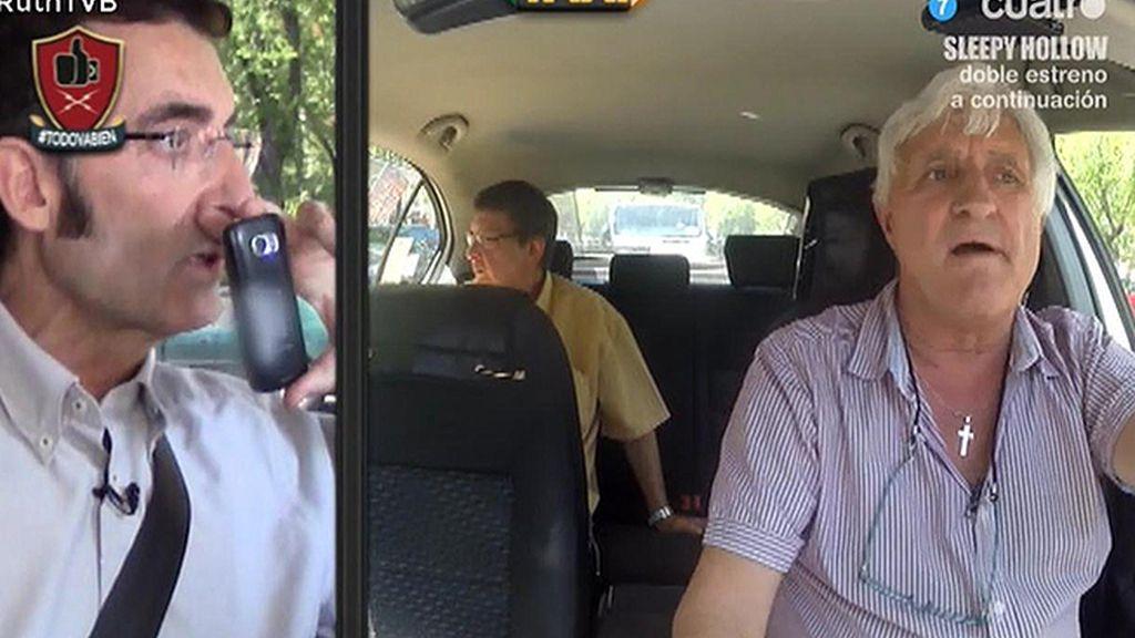 La cámara oculta de Javier Abascal: ¿te subirías a un taxi ilegal?