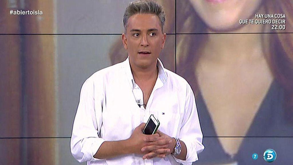 Kiko Hernández advierte a Chabelita sobre los mensajes de Alejandro