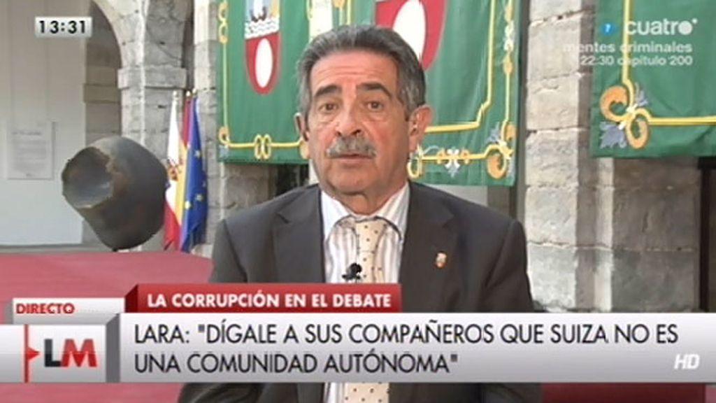 """Miguel Ángel Revilla: """"El problema de España no es haber tocado fondo sino salir del fondo"""""""