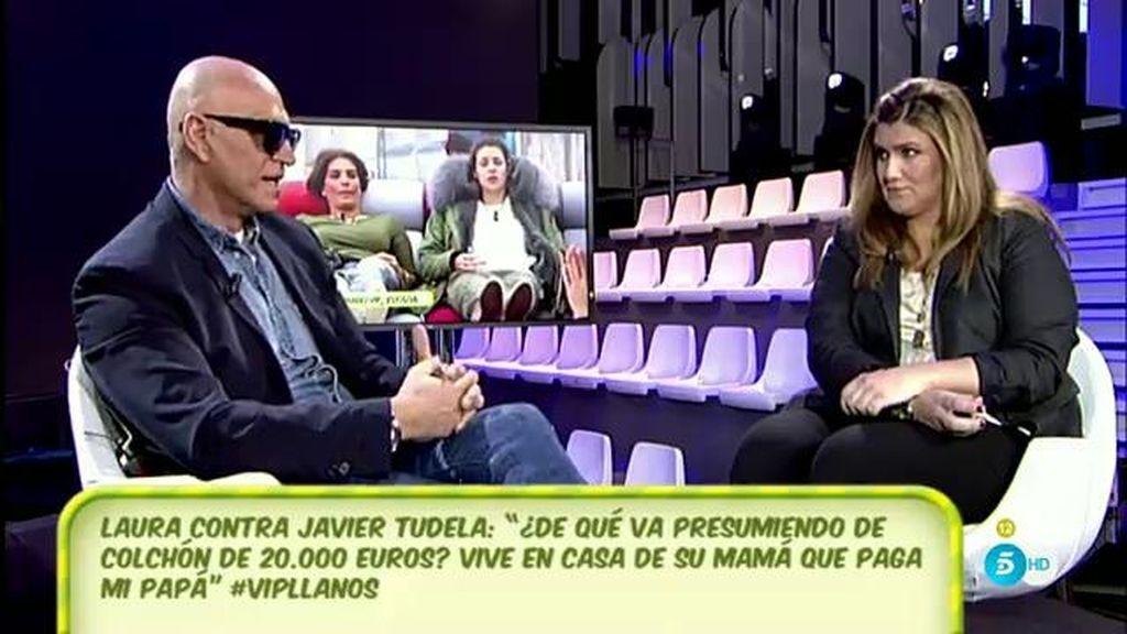 """Kiko Matamoros reconoce que Javier Tudela tiene un caché """"un poco más elevado"""" que su hija Laura """"porque firmó después"""""""