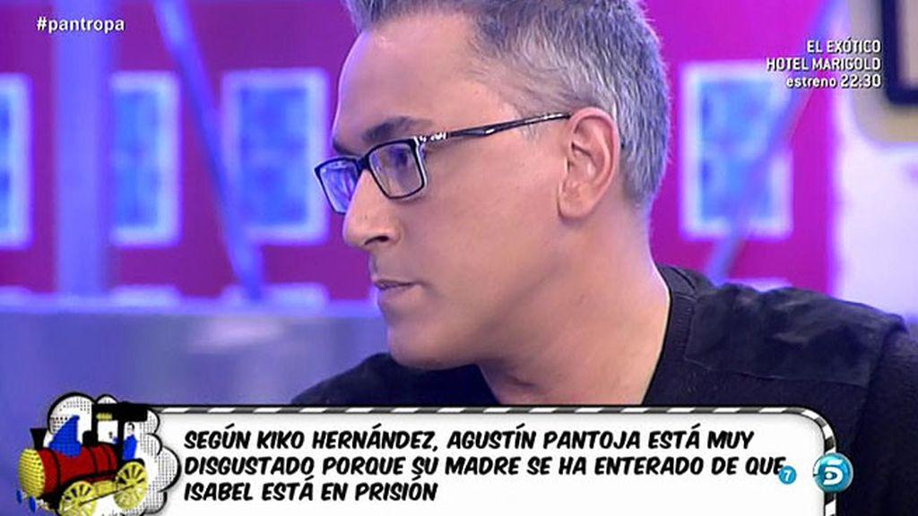 """Kiko Hernández: """"Doña Ana se ha enterado de que Isabel Pantoja está en la cárcel"""""""