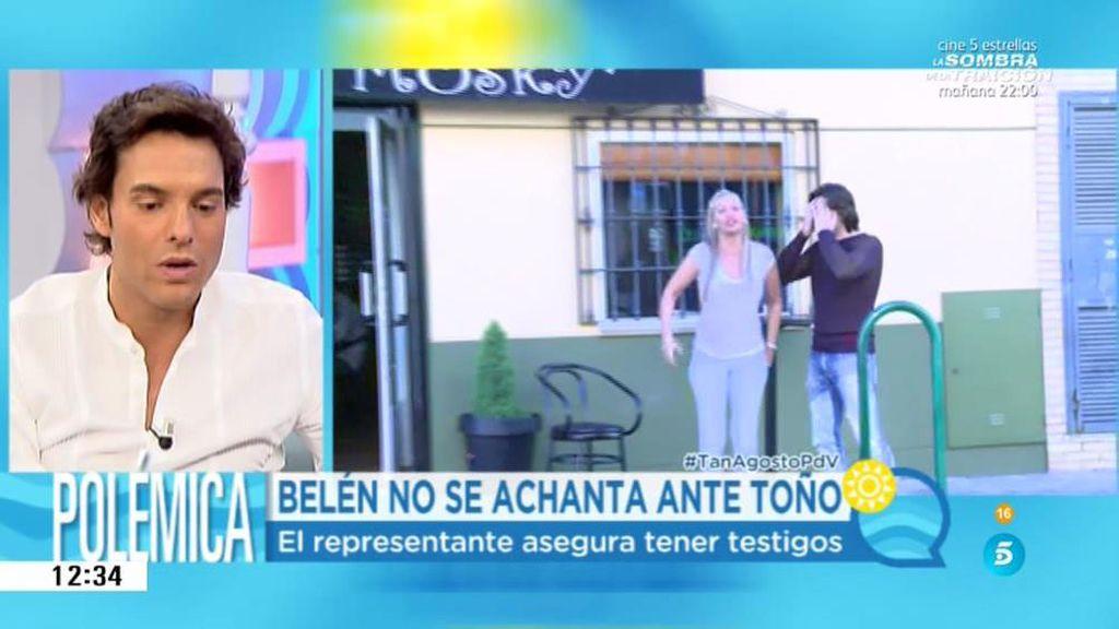 Belén ha recuperado el backup de su teléfono y asegura que Toño no tiene mensajes