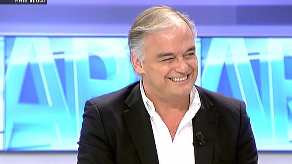"""González Pons:""""No necesitamos grandes líderes carismáticos que nos salven del abismo sino un poco de sentido común"""""""