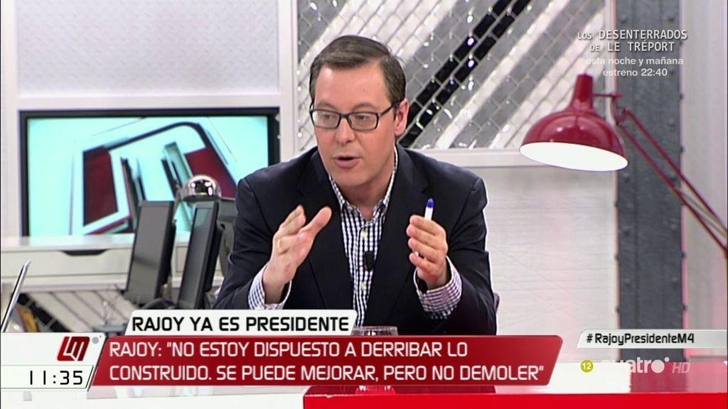 """A. Serrano (PP): """"No se puede pedir a un gobierno refrendado en las urnas que demuela todo lo que ha hecho"""""""