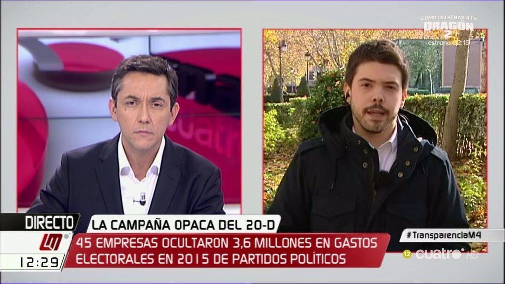 """Nacho Corredor: """"El pacto anticorrupción no se refiere a la financiación de los partidos"""""""