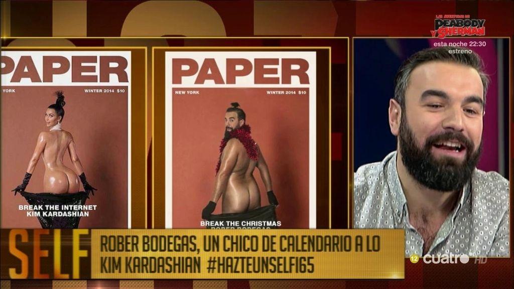 Rober Bodegas: El 'chico del calendario'