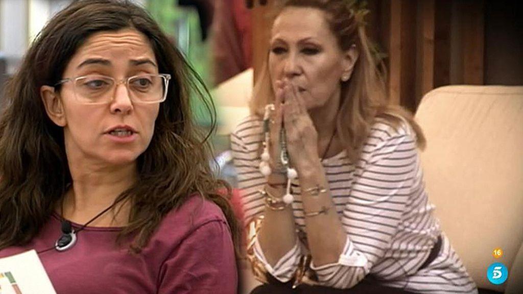 """Carmen López: """"Rosa Benito es la más perversa conmigo"""""""